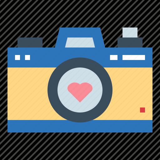 camera, image, love, photo icon