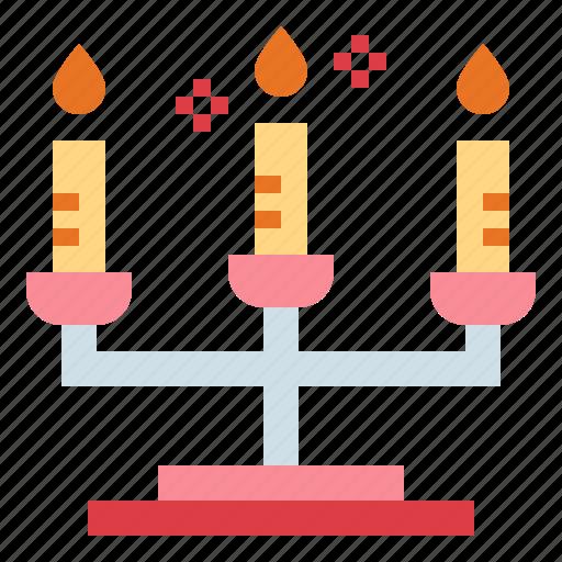 Candelabra, date, dinner, light icon - Download on Iconfinder