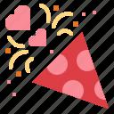 celebration, fireworks, party, rocket icon