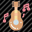 guitar, love, music, romance