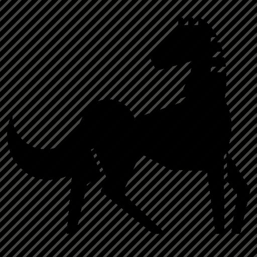 horse, mare, pony, power, race horse, speed, stud icon