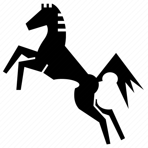 horse, mare, pony, power, race horse, speed, stud icon