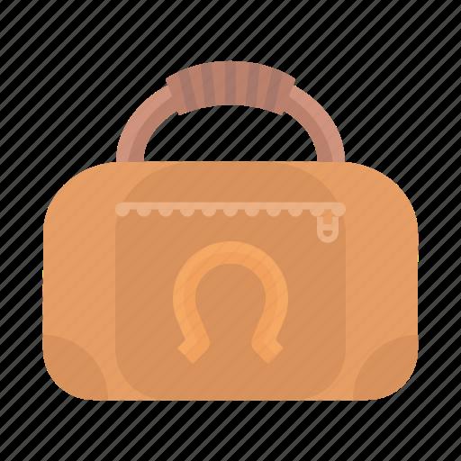 bag, equestrian, showjumping, travel icon