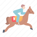 dressage, equestrian, horse, showjumping icon
