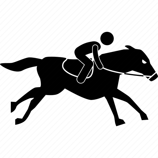 competition, horse, jockey, race, ride, running, speed icon
