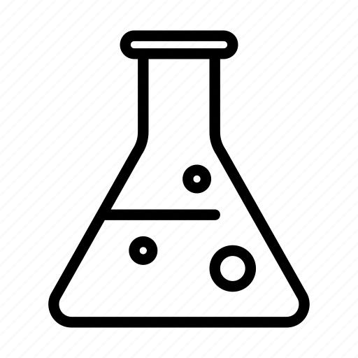 chemistry, flask, lab, laboratory, research, science icon