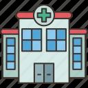 hospital, medical, clinic, health, building