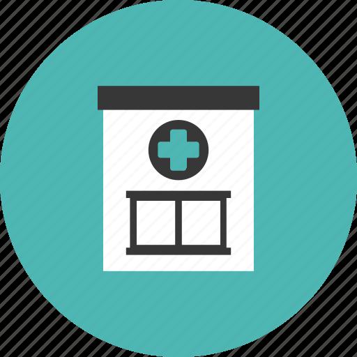 building, doctor, health, hospital, medical, medicine, pharmacy icon