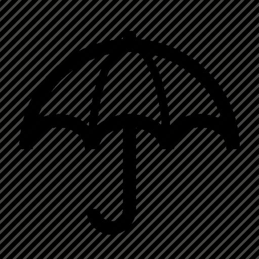 protect, protection, rain, safe, umbrella, weather icon