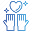 care, charity, donate, heart icon