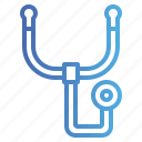 doctor, health, phonendoscope, stethoscope icon