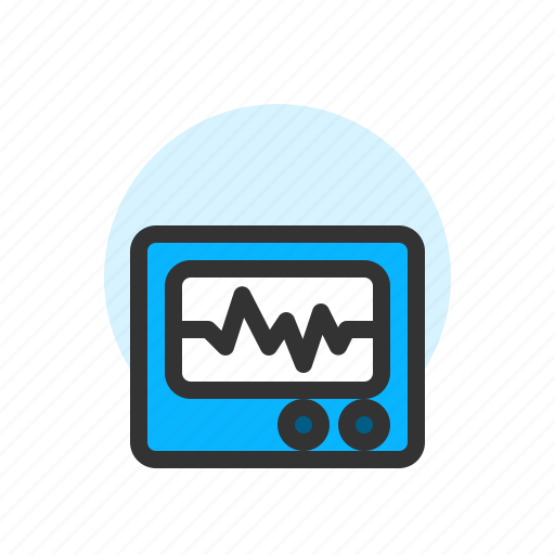 Clinic, healthcare, hospital, medical, monitor, pulse icon - Download on Iconfinder