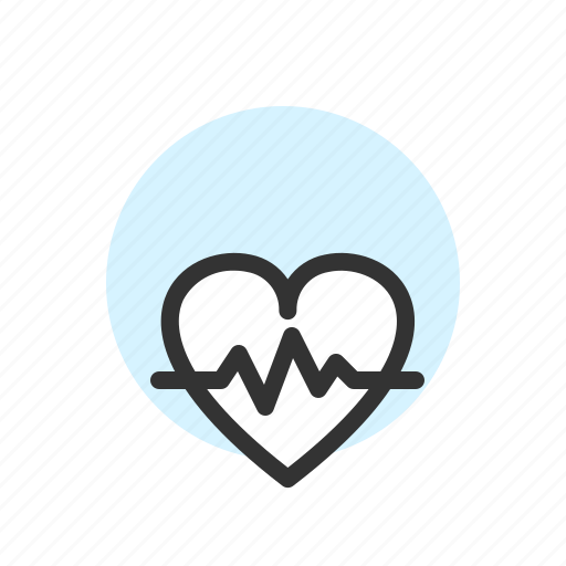 Clinic, healthcare, heart, hospital, medical, pulse icon - Download on Iconfinder