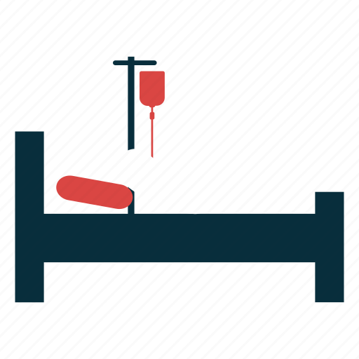 bed, care, health, hospital, patient, treatment icon