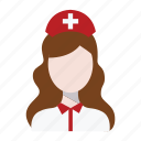 and, care, health, hospital, nurse icon