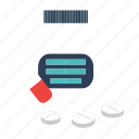 and, care, health, hospital, medicine, tablets icon