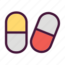 doctor, health, hospital, medical, medicine, pill, sick icon