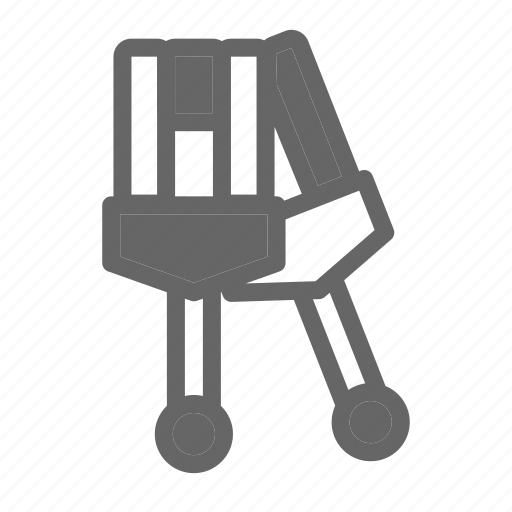 Crutches, doctor, health, hospital, medical, medicine, sick icon - Download on Iconfinder