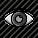 ophthalmology, sight, glasses, laser, eye, hospital icon