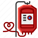 blood, bottle, drip, dropper, glucose, hospital, infusion icon