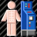 diagnostic, mammography, mri, rheumatology, scanning, ultrasound, x-ray icon