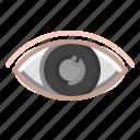 eye, glasses, hospital, laser, ophthalmology, sight icon
