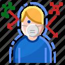 antivirus, danger, mask, people, protection, safety, virus icon