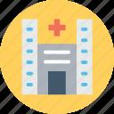 clinic, hospital, infirmary, nursing home, sanatorium