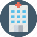 clinic, general hospital, hospital, nursing home, sanatorium icon