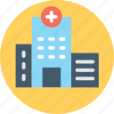 hospital, infirmary, nursing home, sanatorium, sick bay icon