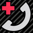 call, horizontal, hospital, indoors, nurse, scrubs, talking icon