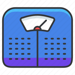 balance, hospital, measure, scale, weight icon