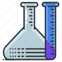equipment, hospital, lab, laboratory, medical, test, tubes icon