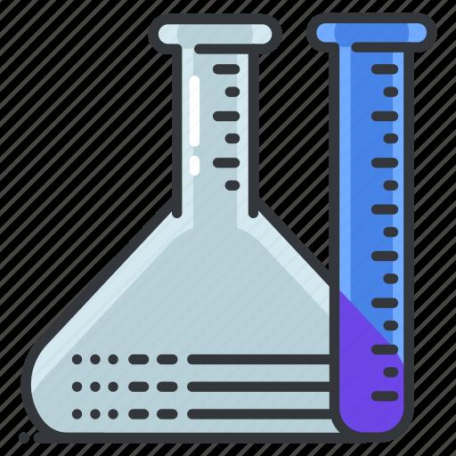 equipment, hospital, lab, laboratory, medical, test, tubes icon