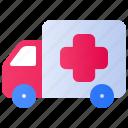 ambulance, clinic, health, healthcare, hospital, medical, medicine icon