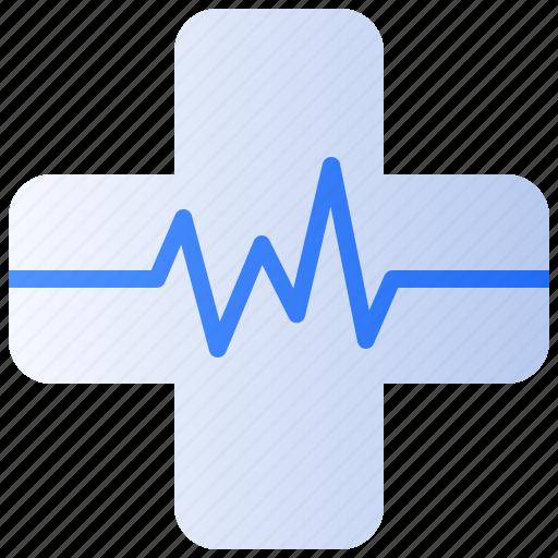 cardiogram, clinic, health, healthcare, hospital, medical, medicine icon
