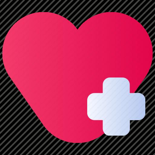 clinic, health, healthcare, heart, hospital, medical, medicine icon