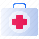 clinic, health, healthcare, hospital, kit, medical, medicine icon