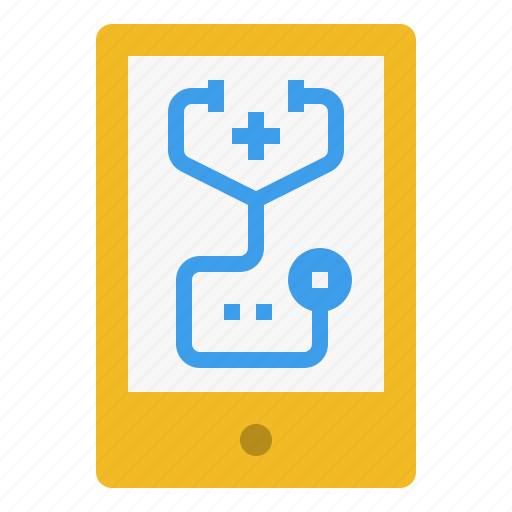 care, device, hospital, medical, mobile, tablet, treatment icon