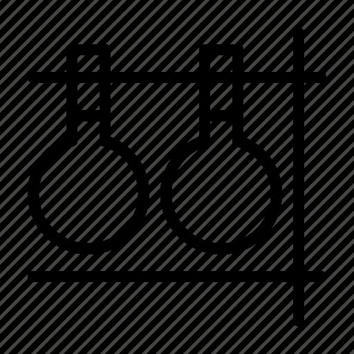experiment, laboratorium, research icon