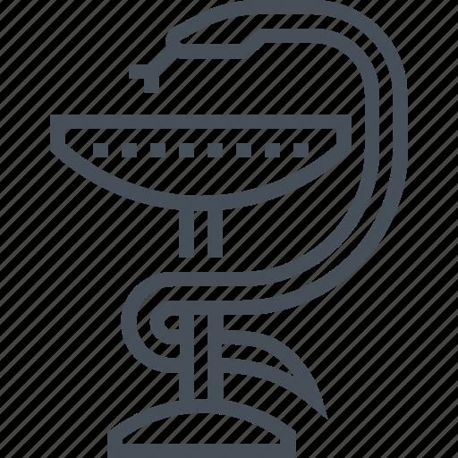 drug, hygeia, medical, pharmacy, pill, snake icon