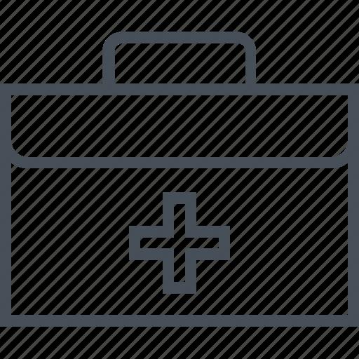 accident, help, kit, medical, pharmacy, suitcase icon