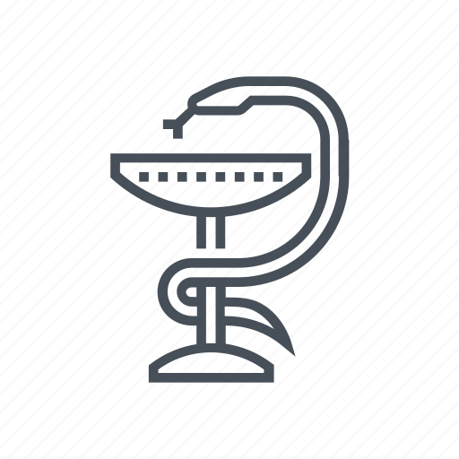 Drug, hygeia, medical, pharmacy, pill, snake icon - Download on Iconfinder