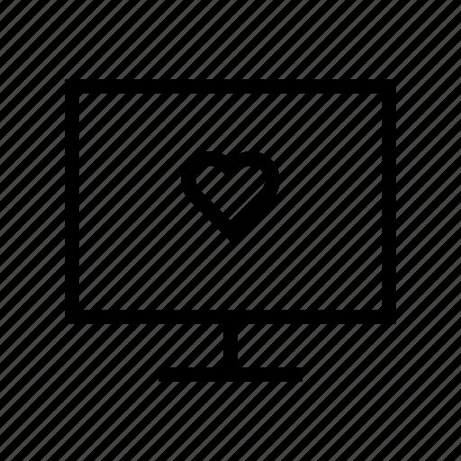 display, doctor, heart, hospital, medical, medicine icon