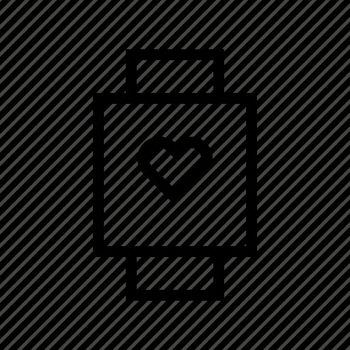 doctor, heart, hospital, medical, medicine, smartwatch icon