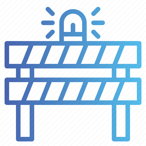 Barrier, caution, construction, obstacle icon - Download on Iconfinder