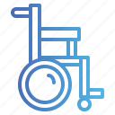 disabled, medical, transport, wheelchair icon