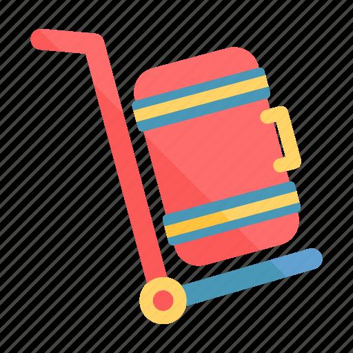 baggage, baggage service, luggage, luggage service, suitcase, tourism, travel icon