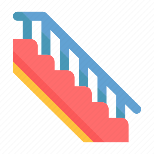 floor, sign, stair, staircase, stairs, stairway, upstairs icon
