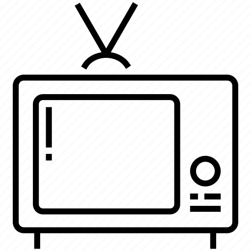 channel, electric, entertainment, media, screen, technology, tv icon